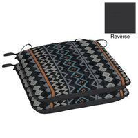Arden Companies Better Homes and Gardens Outdoor Patio Universal Seat Pad, Set of Two, Jakarta Ikat