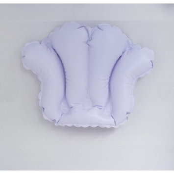 Mabis Inflatable Bath Pillow, White