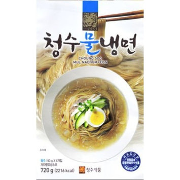 Choung Soo Mul Naengmyeon, Korean Cold Noodle with Soup Base 720g