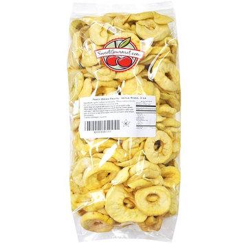 Fancy Dried Fruits- Dried Fuji Apple Rings, 3 lb by Green Bulk