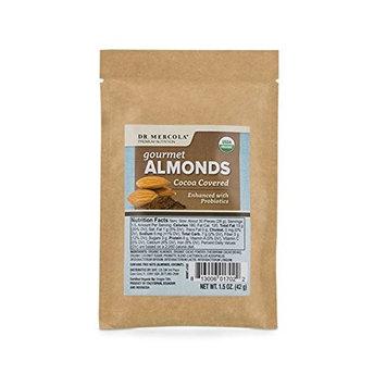 Dr. Mercola - Organic Almonds - Cocoa Covered - (1.5oz. per bag) 1 Bag
