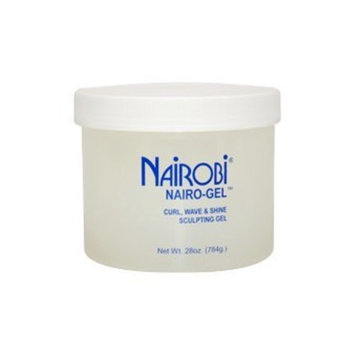 Nairobi Curl Wave and Shine Sculpting Gel, 28 Ounce