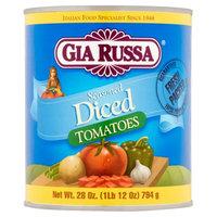 Gia Brands Inc Gia Russa Seasoned Diced Tomatoes, 28 oz