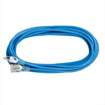 Voltec 05-00361 25 ft. SJEOW Blue Extension Cord With Lighted End Case Of 12