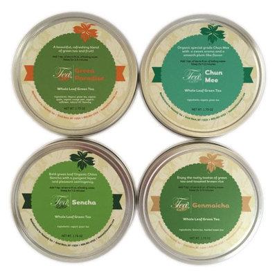 Heavenly Tea Inc. Heavenly Tea Leaves Green Tea Sampler, 4 Count
