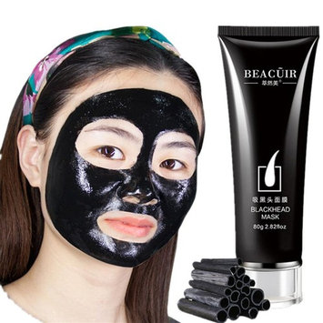 Mask,Kwok Black Mud Deep Cleansing Purifying Peel Off Facail Face Mask For Women And Men