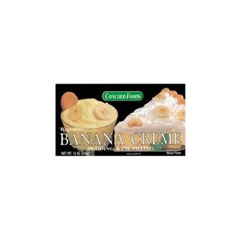 Concord Banana Creme Pudding & Pie Filling-SIX 16oz Pouches