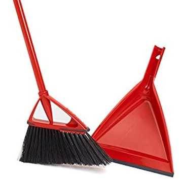Oskar Angle Broom with Dust Pan