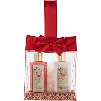ULTA Candy Cane Satin Bow Gift Set