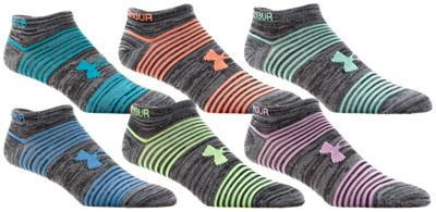 Under Armour Women's Essential Twist 2.0 Socks Black Heather-Assorted
