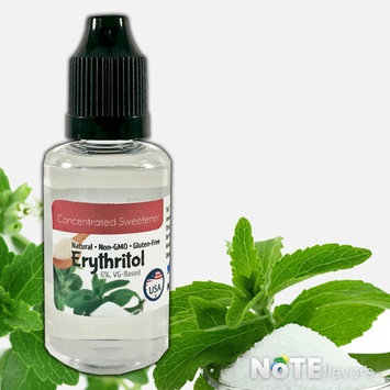 Liquid Erythritol in VG - 10-120mL - USP Grade Natural Sweetener