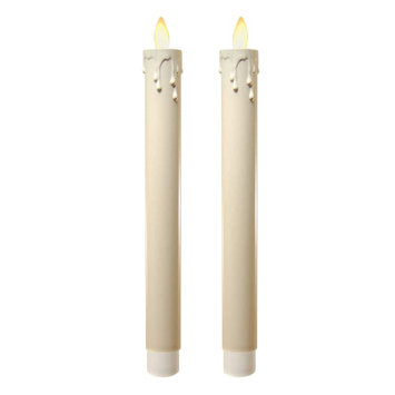 Lumabase Action Flame Flameless Candle (Set of 2)