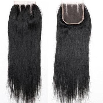BLACKMOON HAIR 16 Inch 3 Way Part Lace Closure Straight 130% Density 4
