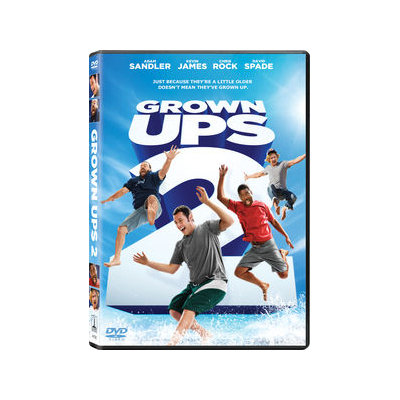 Sony Pictures Grown Ups 2 [dvd W/ultraviolets/dol Dig 5.1/eng/fren[paris/latin Amer]