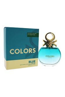 United Colours Of Benetton United Colors Of Benetton Colors Blue Edt Spray For Women 2.7 Oz