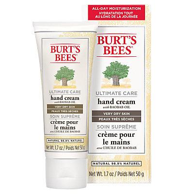Burt's Bees Ultimate Care Hand Cream, 50g