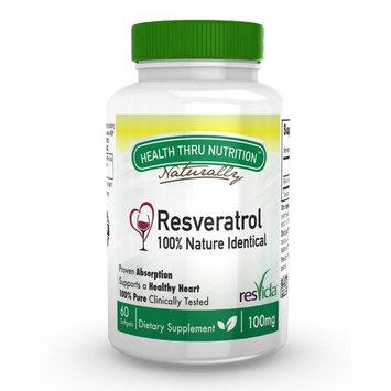 Resveratrol 100mg ResVida Clinically Studied 60 Softgels