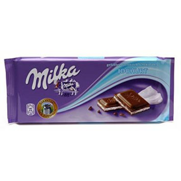 World's Best Milka Chocolate - Yogurt, 10 Bars