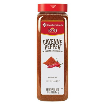 Member's Mark Ground Cayenne Pepper by Tone's, 16 Ounce