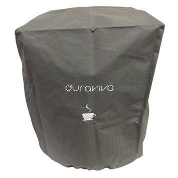 Duraviva Coffee Maker Cover - Nylon, Waterproof, Universal Fit - Fits Keurig K50 K400 K500 series and Similar Brewing Systems (Gray)