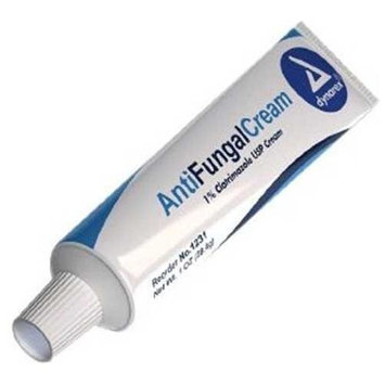Dynarex 1233 AntiFungal Cream 4 Oz Tube - 24/Case