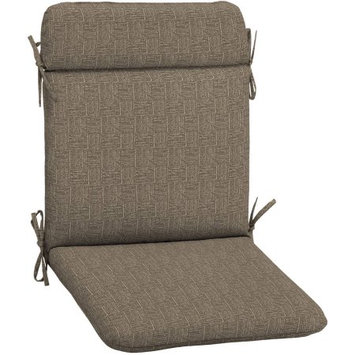 Arden Companies Arden Outdoors Wrought Iron Chair Pad, Brown Woven