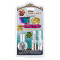 Disney Descendants Pin and Nail Art Set with Mal Evie and Audrey