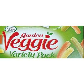 Garden Veggie Snack, Straws Shape Chips Variety Pack, 1 Oz Bags