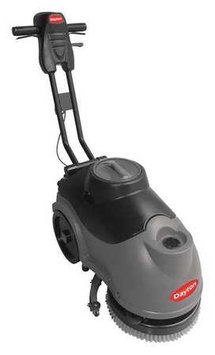 DAYTON 20HW28 Walk Behind Floor Scrubber,15 in.