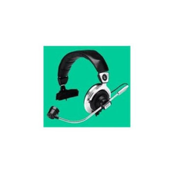 2BOOM HPM100-BLK Foldable Over The Ear Headphone with Microphone Black