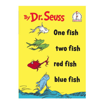 Random House One Fish Two Fish Red Fish Blue Fish Temporary