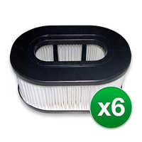 Replacement HEPA Vacuum Filter for Hoover U5175900 Vacuums (6 Pack)
