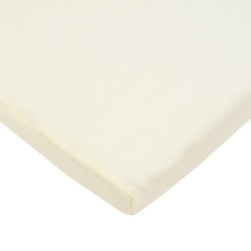 TL Care Jersey Cradle Sheet, White One size