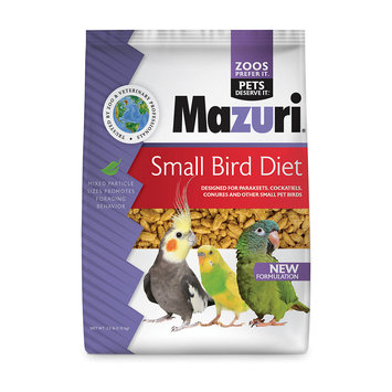 Mazuri Small Bird Food, 2.5 lbs.