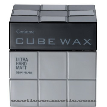 Confume Cube Hair Wax - Ultra Hard Mat