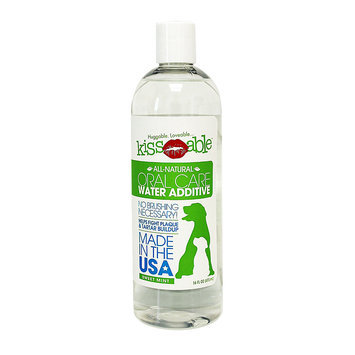 KissAble Oral Care Water Additive for Dogs & Cats Sweet Mint 16 fl oz