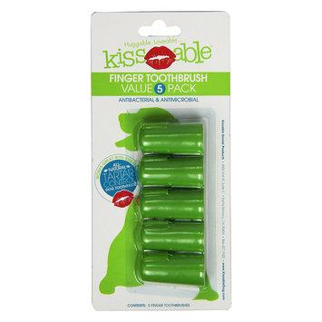 KissAble Finger Toothbrush for Dogs 5 Pack
