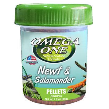 Omega One Newt & Salamander Pellets, 1.2oz