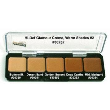 HD High-Definition Glamour Creme Palette, Warm #2