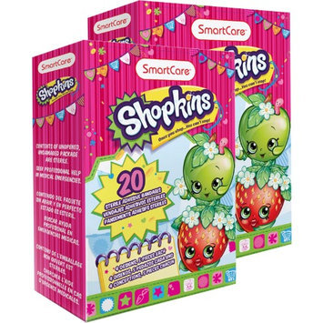 2PK BRUSH BUDDIES SHOPKINS BANDAGES