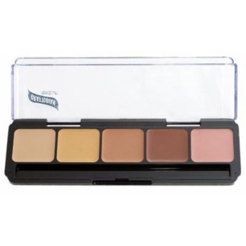 HD High-Definition Glamour Creme Palette, Neutral Specialty