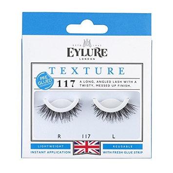 Eylure Pre-Glued 117 False Eyelashes, Black