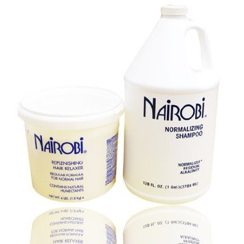 Nairobi Normalizing Shampoo 128 oz + Replenishing Hair Relaxer 4LB SET
