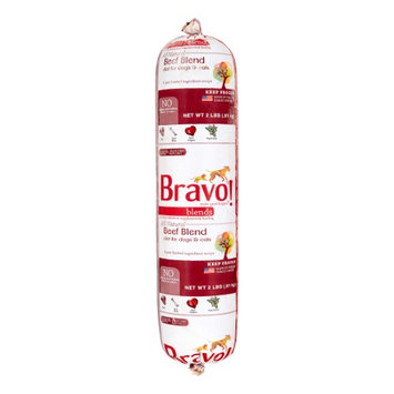 Bravo! Original Frozen Raw New Zealand Beef Chub