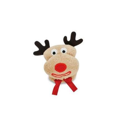 Couture Towel CT-SLRD001301 12 x 11 in. Reindeer - Rudolph Towel Golden Brown