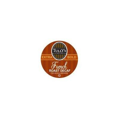 Tully's French Roast DECAF Coffee for Keurig Brewing Systems 24 K- Cups (2 Pack)