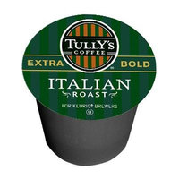 Tully's Italian Roast Coffee for Keurig Brewing Systems 24 K- Cups (2 Pack)
