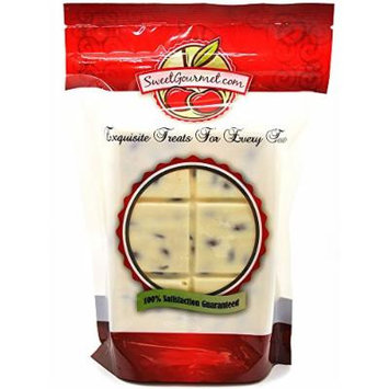 SweetGourmet White Chocolate SUGAR FREE Almond Bark, 16 Oz