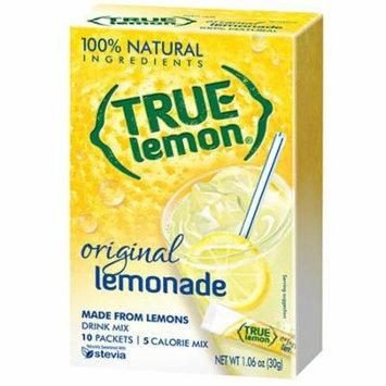 True Citrus 100% Natural True Lemon Lemonade 10 Ct (Pack of 12)