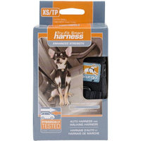 Premier Yarns Kurgo Enhanced Strength Tru-Fit Smart Dog Harness With Seatbelt Tether And Nesting Buckles XS Black